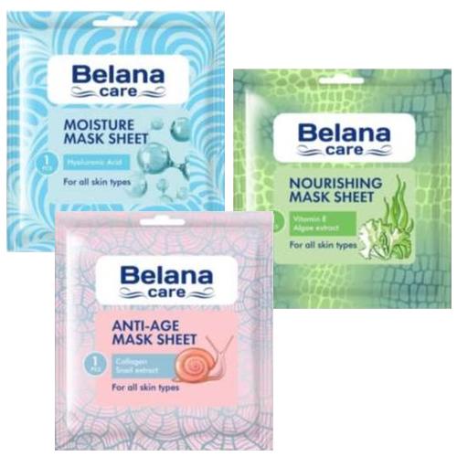 Тканевая маска для лица Belana