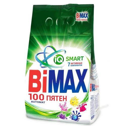 Порошок стиральный Bimax, автомат, 100 пятен/колор, 3 кг