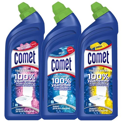 Чистящее средство для туалета Comet, в ассортименте, 700 мл